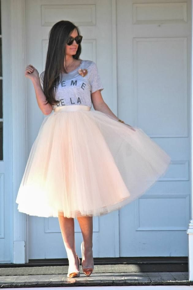 Tulle and T